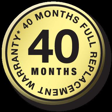40-months-warranty-gold