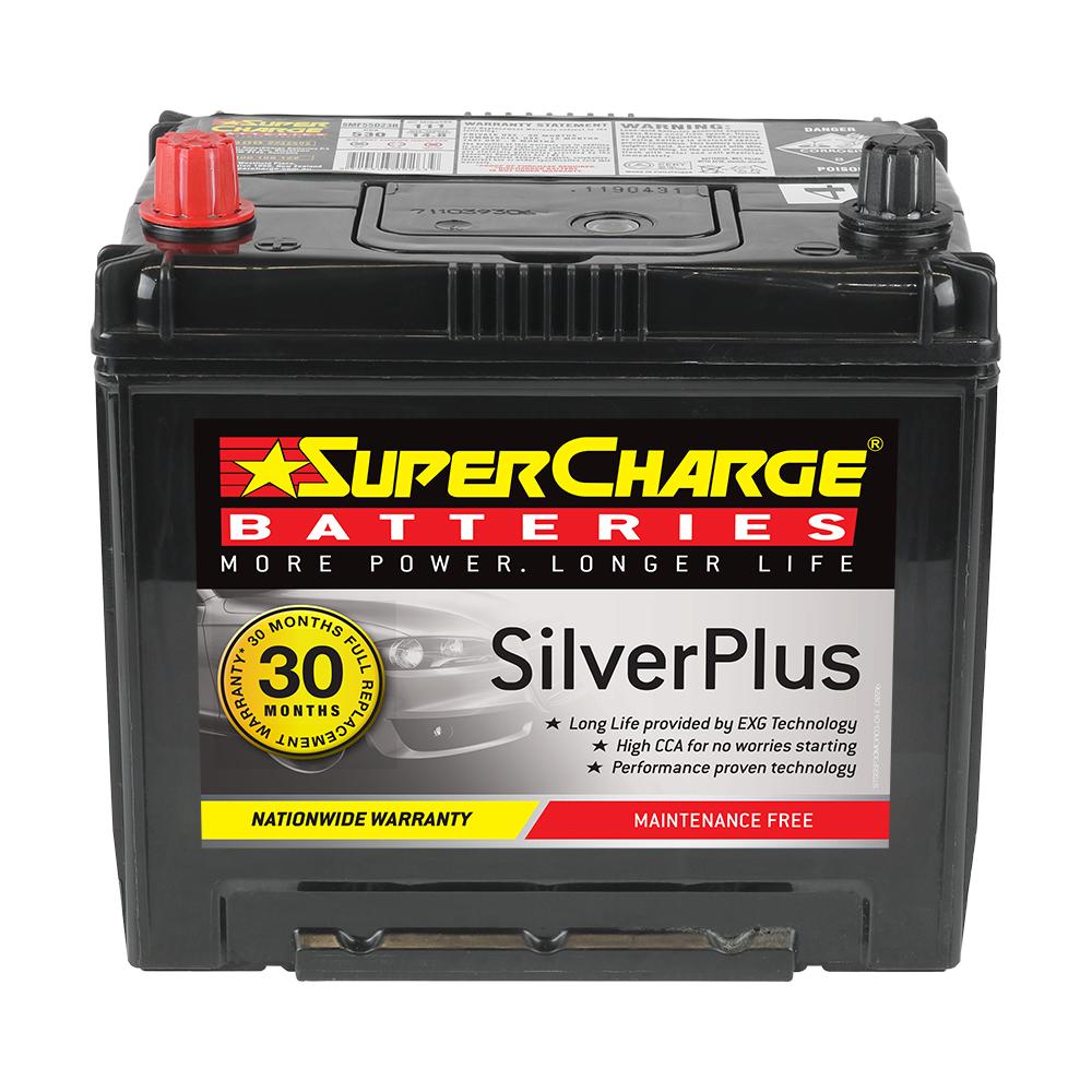 SMF55D23R SuperCharge Silver Plus SMF55D23R | Cars