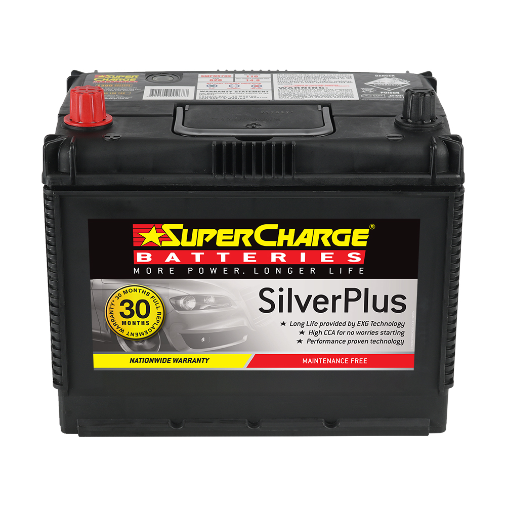 SMFNS70X SuperCharge Silver Plus SMFNS70X | 4WD