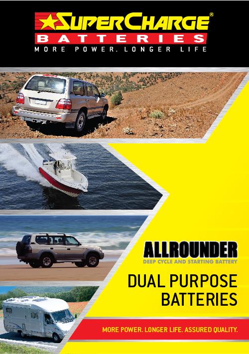 Dual Purpose Battery Range | SuperCharge Brochure