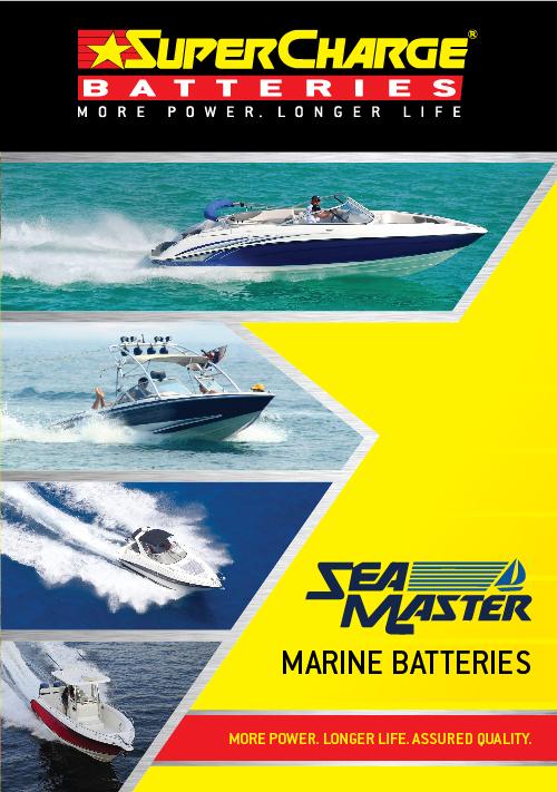 Marine Battery Range | SuperCharge Brochure
