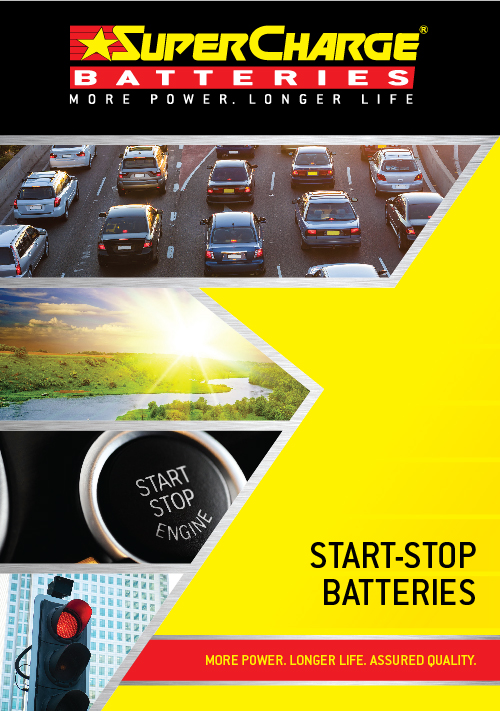 Start Stop Battery Range | SuperCharge Brochure