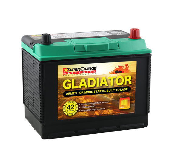Supercharge Gladiator - Supercharge Batteries